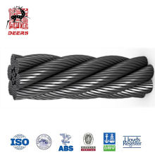 Factory price 6x36 galvanized steel wire rope