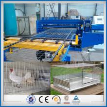 Fast speed wire chicken cage machine factory
