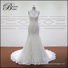 Vestido de novia de la nueva sirena del estilo