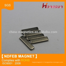 neodymium magnet N38 Block 20x5x1.5mm magnet