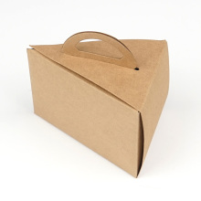 Plain Design Kraft Paper Take Away Food Container