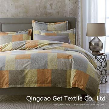 Quadrados de 100% algodão / poliéster confortável cama moda 2016