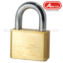 Square Type Brass Padlock with Vane Keys (105)