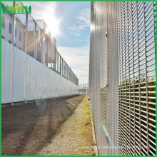 358 anti-climb & anti-cut through barrier high security mesh fencing for hot sale