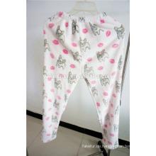 Beliebte nettes Muster Mädchen Kapuzen Homewear Pyjama
