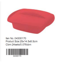 25*14.5cm Silicone Cake Mould with lid