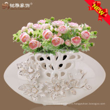 Fashionable design qualified home decor vase for wedding decoration