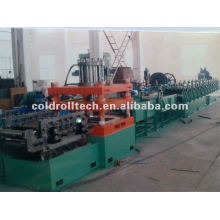 Expressway crash barrier 2 wave guardrail roll forming machine