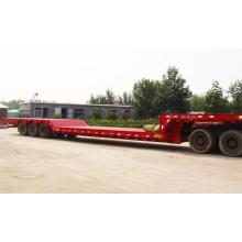 3 Axles low bed نصف مقطورة