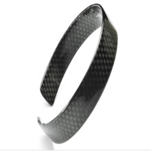 Factory Hot-Sell Promotional Black Carbon Fiber Mens Bracelet