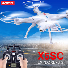 Original Syma X5SC X5SC-1 Quadcopter With HD Camera 2.4G 4CH 6-Axis RC Helicopter Toy Airselfie Kid Toys Drone