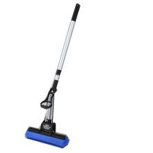 PVA sponge mop with telescopic aluminium extendable handle