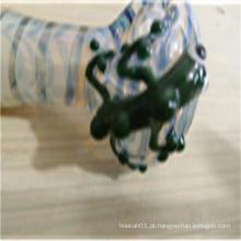 Tubo barato da mão do vidro do preço para o teste padrão individualization de fumo (ES-HP-163)