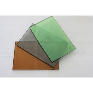 Clear, Re-dark Green Float Glass