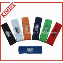 100% Cotton Unisex Outdoor Terry Sports Headband