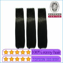 Human Virgin Hair PU Hair Extension