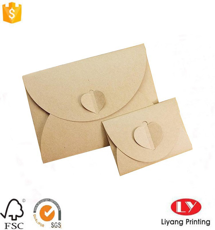 invitation card packaging envelope