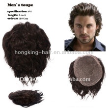 billiges Toupet des menschlichen Haares für Mannfabrikpreis