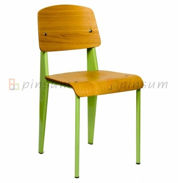 chine norme manger chaise jean prouve chaise en contre plaqu haute qualit chaise bois. Black Bedroom Furniture Sets. Home Design Ideas