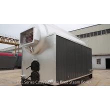 Chaudière à vapeur Stoker à grille mobile industrielle alimentée au charbon
