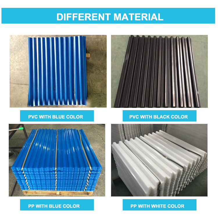 PP tube settler lamella tube packing