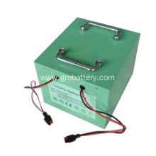 60V 40Ah LiFePO4 battery pack for golf trolley