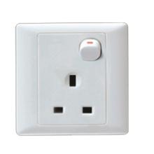 Enchufe de interruptor de estilo británico (A225)