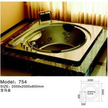 Round Walk In Acrylic Bathtub Jecuzzi
