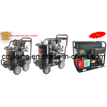 5000psi/345bar Gasoline Engine Industry Duty Hot Water High Pressure Washer (DHB-5007G)