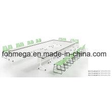 Moderno Conjoined forma de U Oficina de mesa de la sala de conferencias (FOH-TD-AM1207-B)