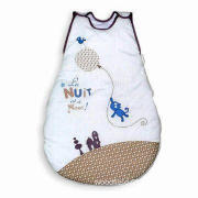 Baby Sleeping Bag, Made of Cotton, Customized Sizes and Logos Accepted