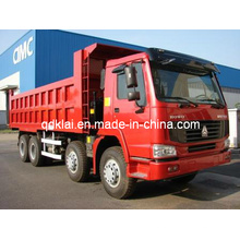 Sinotruck HOWO Dump Truck 8X4 Capacidade 20cbm-25cbm