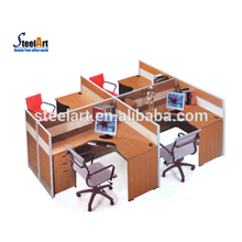 Fashionable office partition wall partition office cubicle partition
