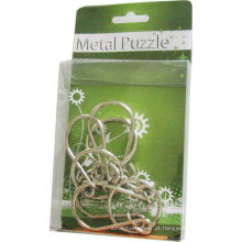 Small 3D Interlocking Ring Metal Puzzle Games