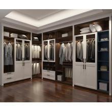Темный орех Индивидуальный гардероб Угловой шкаф