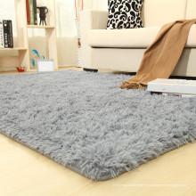tapis de coussin éponge shaggy longue pour le salon