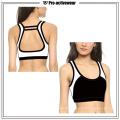 OEM дизайн пользовательских женщин полиэстер спандекс сексуальный спортивный бюстгальтер йоги