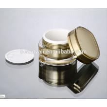 Crème acrylique en forme de feuille 15ml 30ml 50ml