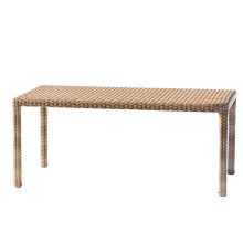 Patio Rattan Wicker Garden Outdoor Furniture Dining Table