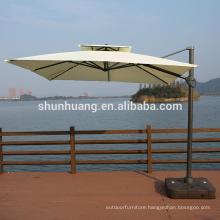 Patio outdoor furniture side umbrella high quality beach umbrella