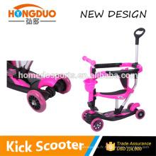 Nouveau vélo pour enfants avec 4 roues PU