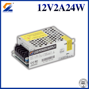 12V 2A 24W LED Power Supply Untuk LED Strip