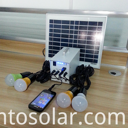 10w solar kits with mobile charger for Africa