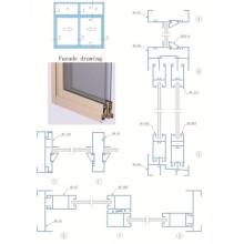 Aluminum Profile For Sliding Windows And Doors