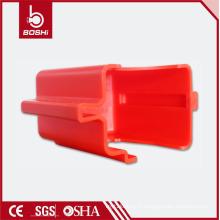 Robinets à billes à bride réglable Verrouillage du couvercle (BD-F08), cadenas verrouillées verrouillées Diamètre max.: 9mm