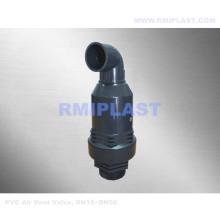 Soupape d'aération en plastique PVC
