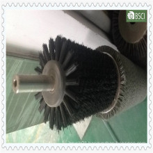 Green PP Body of Black Nylon Stainless Steel Industrial Brush (BR-QSLL-0.25)