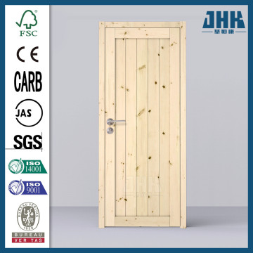 JHK Knotty Pine Timber Sliding Door