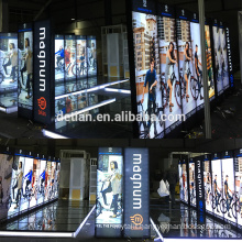 Detian Offer lighting trade show booths design portable exhibition booth design from shanghai factory