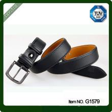 Kundenspezifische echtes Leder Gürtelband breite Lederriemen für Mann